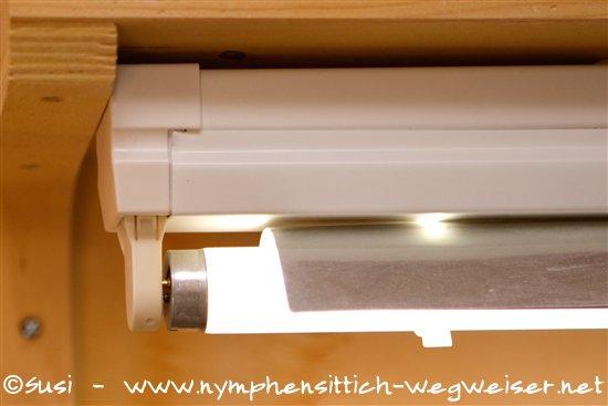 leuchtstoffröhren reflektor selber bauen