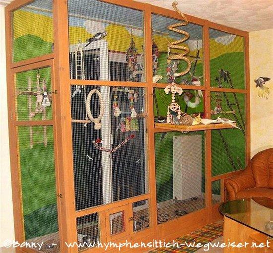 Nymphensittich Wegweiser - Käfig & Voliere